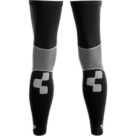 Cube 3D-knit Leg Warmers black'n'grey